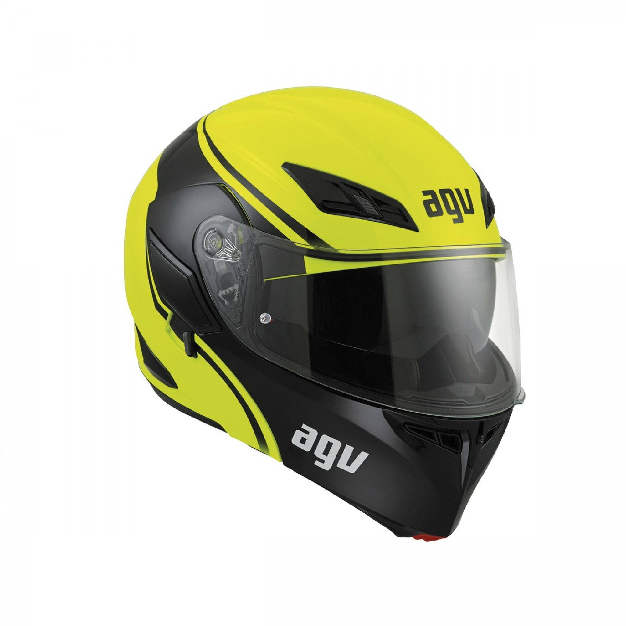 AGV Compact ST Course Yellow Black