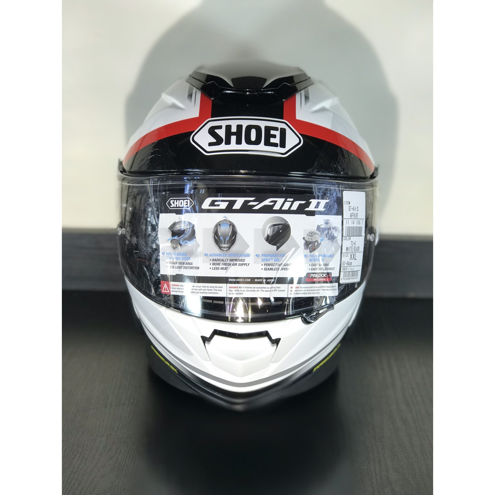 Shoei GT-Air 2 Affair TC-6